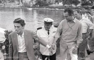 ANTONIONI DELON 1961 L ECLISSE HANDCUFFS EUR LAKE