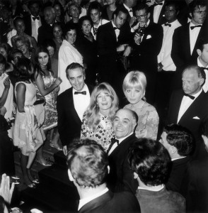 Michelangelo Antonioni, Monica Vitti and Vanessa Redgrave, Cannes, 1967