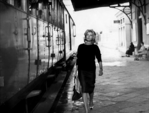 Monica Vitti in L'avventura directed by Michelangelo Antonioni, 1960