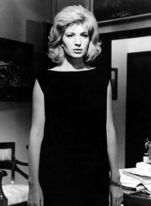 Monica Vitti in L'eclisse directed by Michelangelo Antonioni, 1962