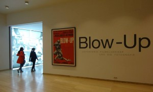 Blow Up al Museo dell'Albertina , a Vienna . Michel Giniès‎